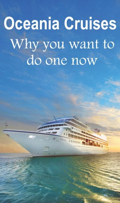 Oceania Cruises are known for their large selection of itineraries, their value and luxury. If you're looking for a popular cruise line, check out this post.