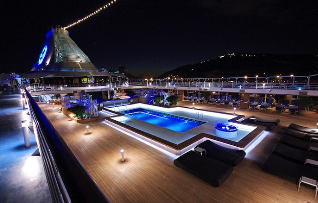Oceania Cruises Pool Deck