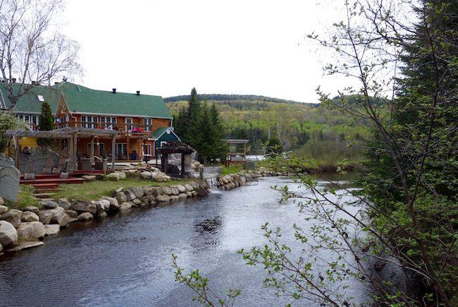 Quebec road trip, Auberge Vieux Moulin