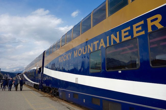 Rocky Mountaineer train review
