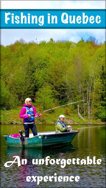 Canada fishing trips in Quebec, an outdoor adventure in the Mauricie region between Montreal and Quebec City