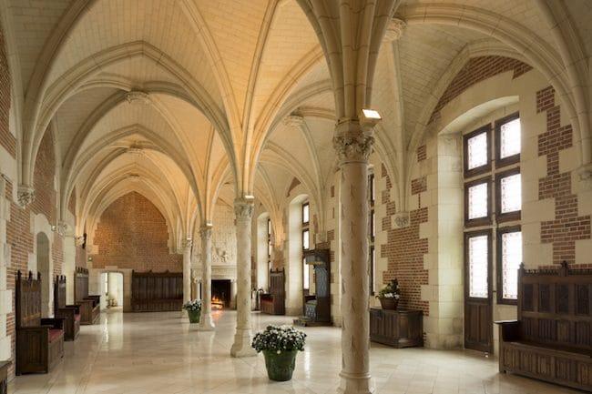 Visiting Château d'Amboise, Council Chamber