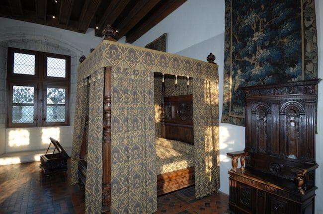 Chateau d'Amboise Henri II bedroom © E. Sander