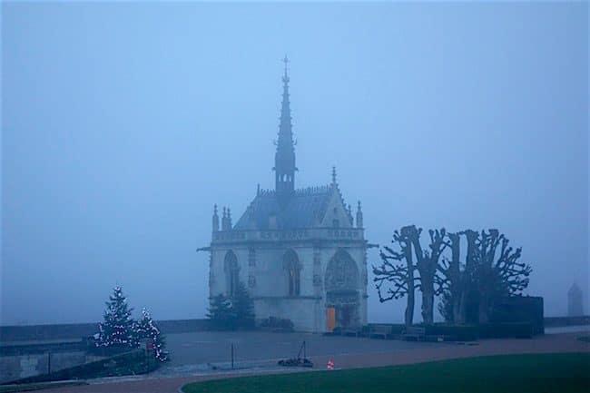 Chateau dAmboise Leonardo da Vinci chapel