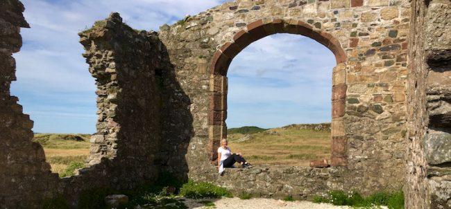 Church of St Dwynwen on Llanddwyn Island