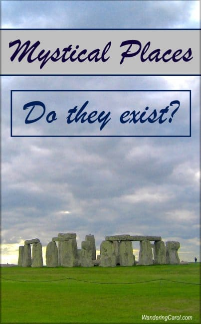Do mystical places exist? Where are some sacred destinations and what makes them sacred? To find out, click through to my post.