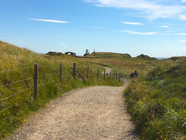 Path on Llanddwyn Island Anglesey