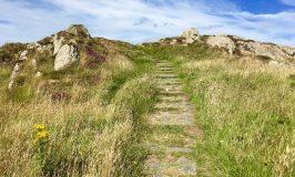 St Dwynwen on Llanddwyn Island