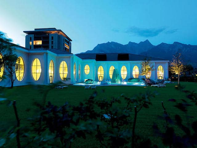 Bad Ragaz, luxury spa in Switzerland