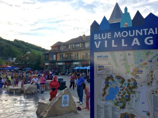 Blue Mountain Village