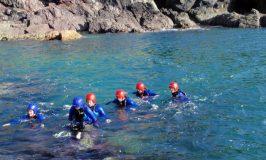 Coasteering in Snowdonia, Wales, the ultimate adventure