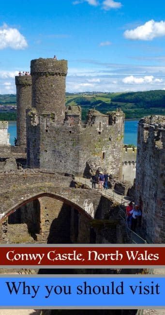 If you're wondering what to do on your trip to North Wales, visit Conwy Castle in the town of Conwy. One of Edward I's Iron Ring of Castles, it's a fascinating piece of the history of the British Isles.