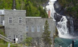 The amazing ghostly village, Val Jalbert, Saguenay, Quebec