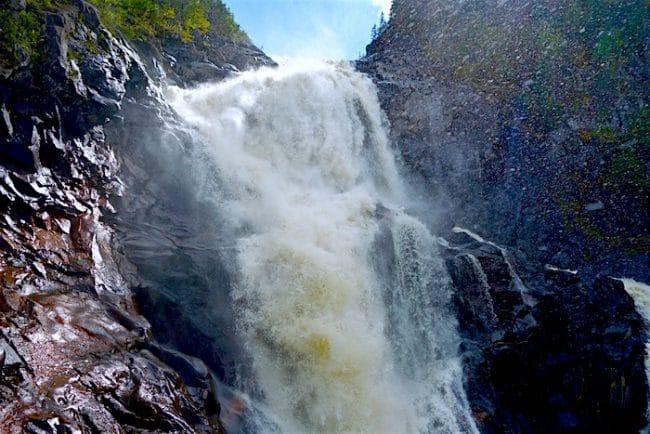 Ouiatchouan Falls Quebec