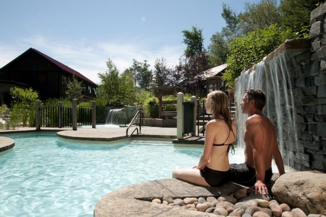 Romantic getaway in Ontario, Le Scandinave