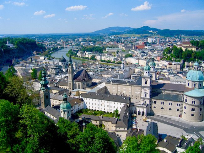 Things to do in Austria, visit Salzburg