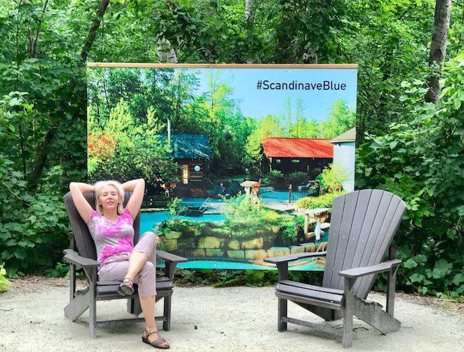 Wandering Carol at Scandinave Spa
