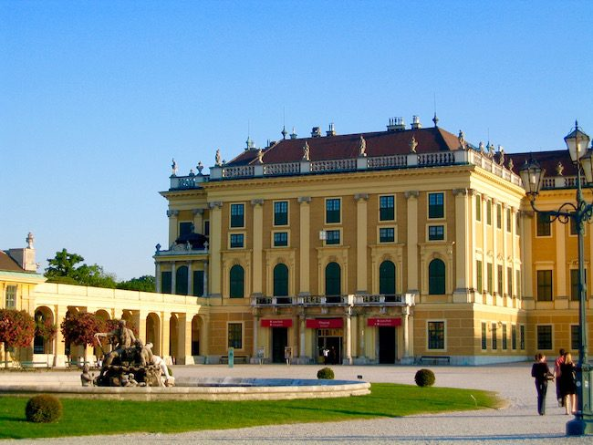 Where to go in Austria, beautiful buildings