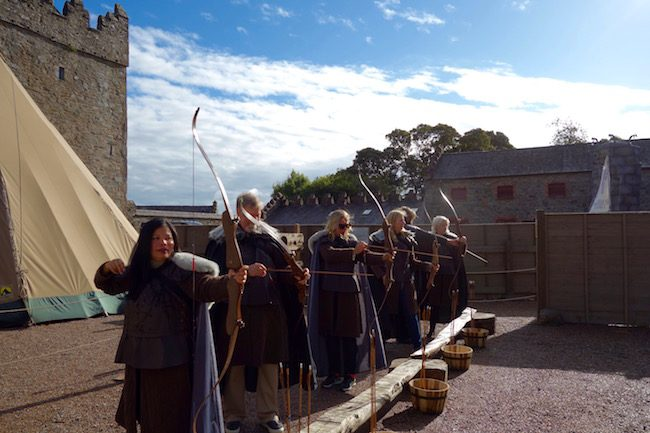 Winterfell Castle archery experience GOT tour