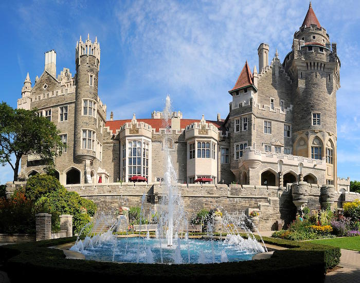 Beautiful photo of Casa Loma, the castle in Toronto Canada