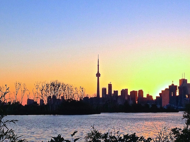 Toronto in a day, skyline view