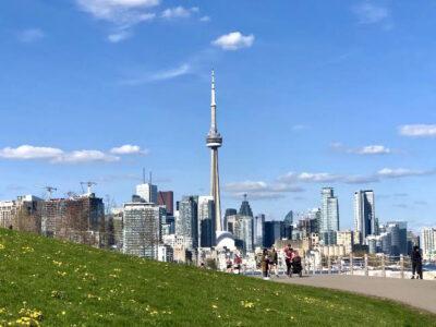 Toronto skyline with CN Tower