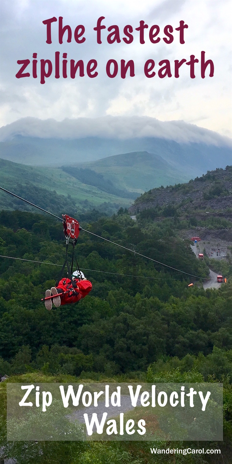 Zip World Velocity Zipline in North Wales is the ultimate adventure. It's the fastest zipline in the world.