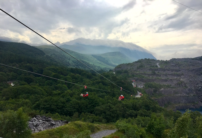 Zip World Velocity Zipline Wales