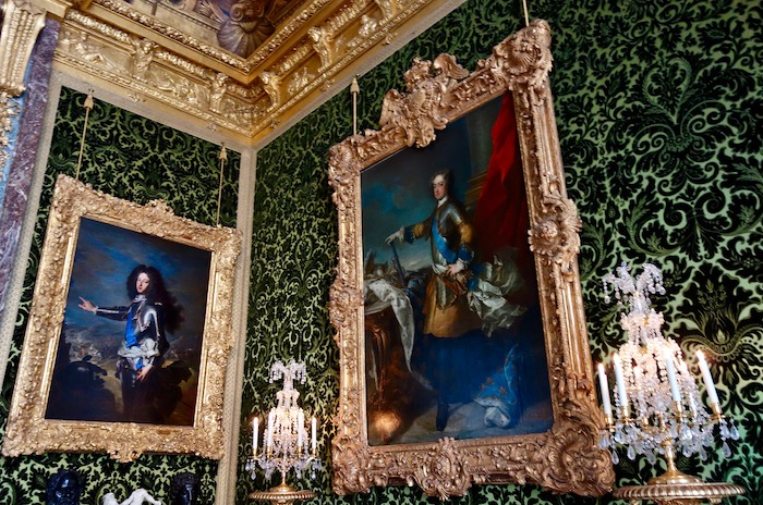 Louis XIV in Palace of Versailles