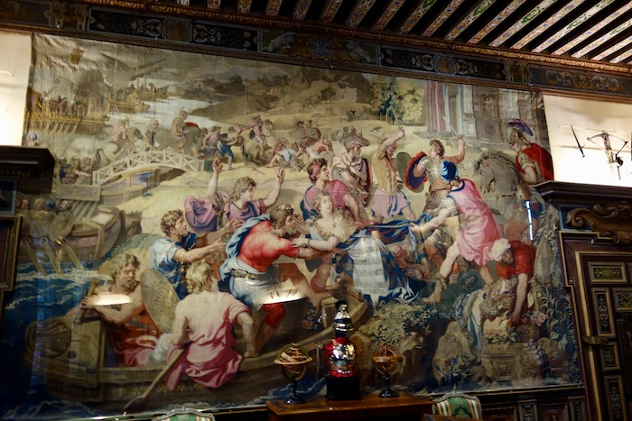 Cheverny Chateau tapestry