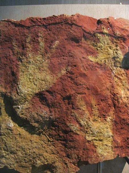 Handprint at Altamira Cave