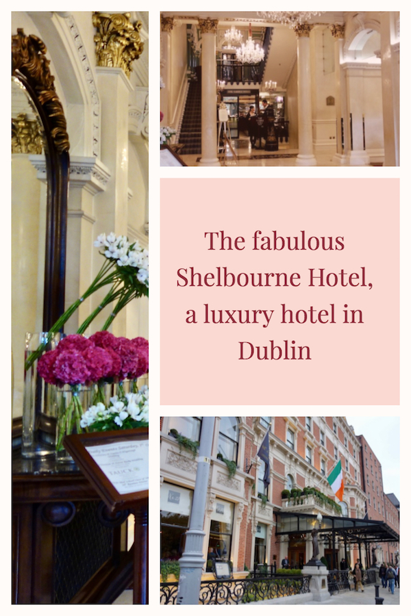The Shelbourne Hotel Dublin, one of Ireland's best luxury hotels. #luxuryhotels #Dublin