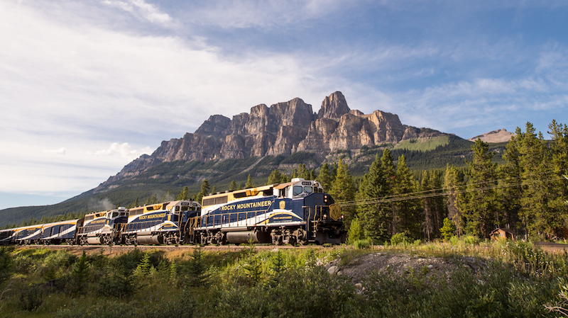 Rocky Mountaineer packages