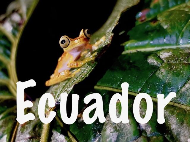 Destinations to travel to, Ecuador