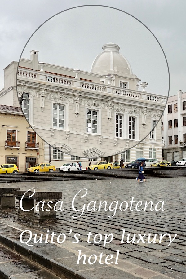 Casa Gangotena, Quito's top luxury hotel is centrally located in the Old Town. Here's my review.