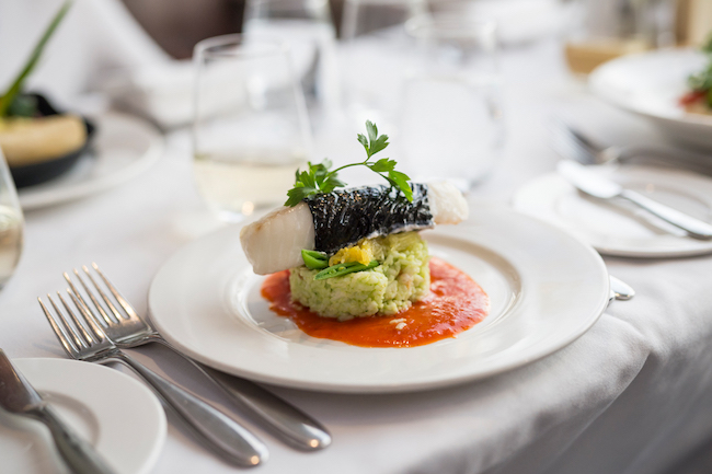Meals on Rocky Mountaineer