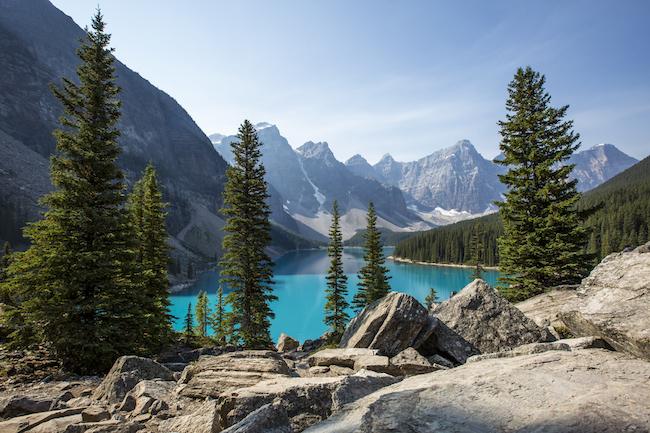 Rocky Mountaineer Canada, Moraine Lake