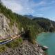 Rocky Mountaineer Canada mountain scenery