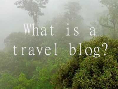 What is a travel blog and why are they important?