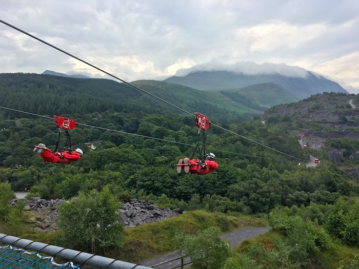 Outdoor activities in Wales, Zip World