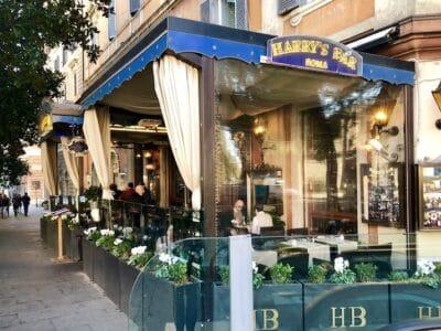 Harry's Bar Via Veneto Rome