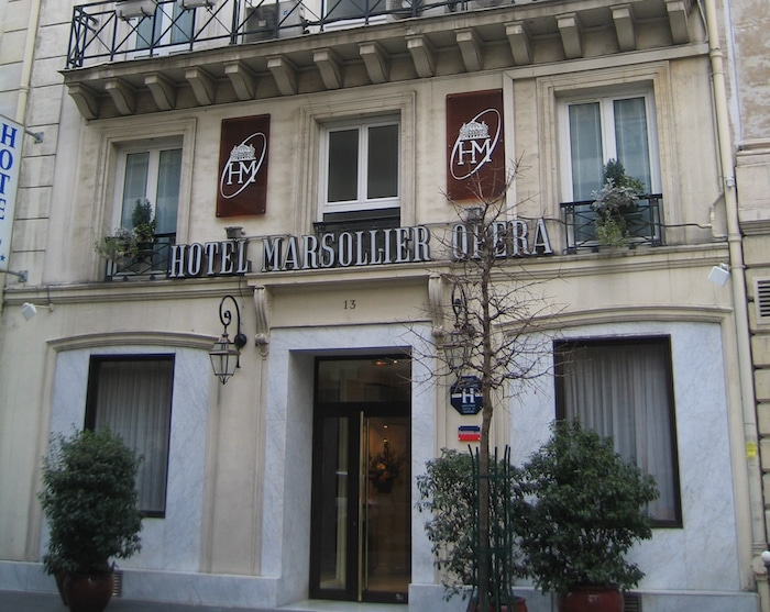 Hotel Louvre Marsollier in Paris