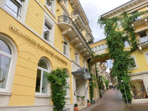 Baden-Baden hotels, Hotel Zum Hirsch exterior viewjpeg