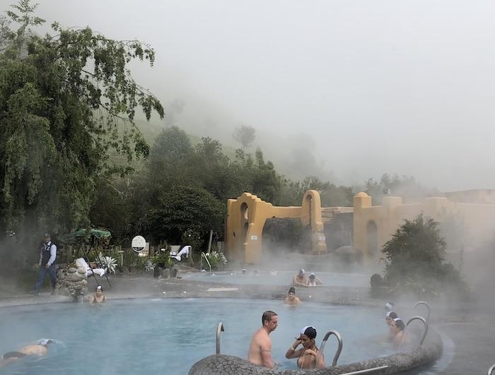 Papallacta Spa pools