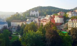 Karlovy Vary panoramic view