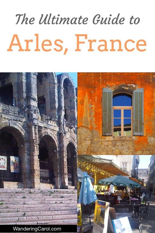 Arles, France, is one of the best places to see in Provence. Vincent van Gogh painted here, the Romans left a strong legacy and it gets 300 days of sunshine a year. An easy day trip from Marseilles or Avignon, it has a lot to offer a visitor if you\'re interested in art and history. Here are the best things to do in Arles in one day. #Arles #France #Travel #Provence #VanGogh