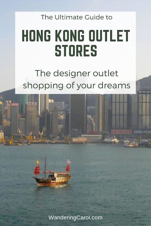 Hong Kong outlet shopping and designer discount stores