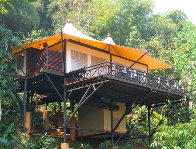 One of the best resorts in Thailand, Four Seasons Golden Triangle Tented Camp