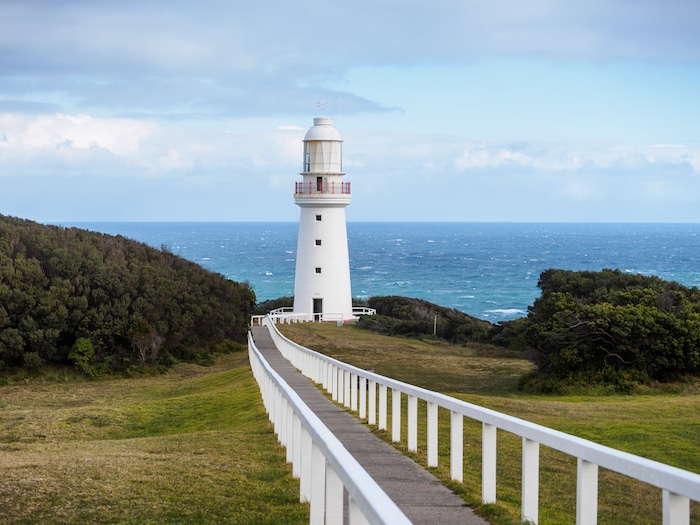 Cape Otway lighthouse on the Great Ocean Road Australia