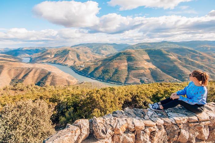 São Leonardo de Galafura View Point in Portugal